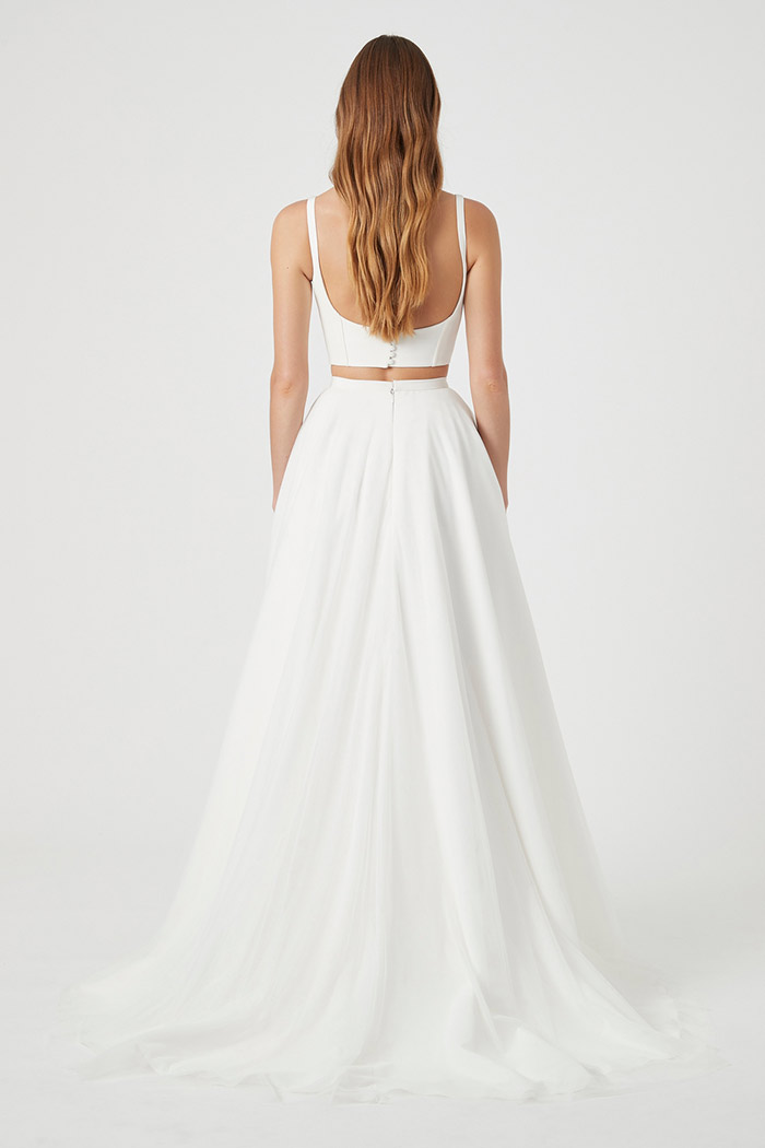 Chosen-StMartin-Bentley-Bodice-West-Skirt-from the back